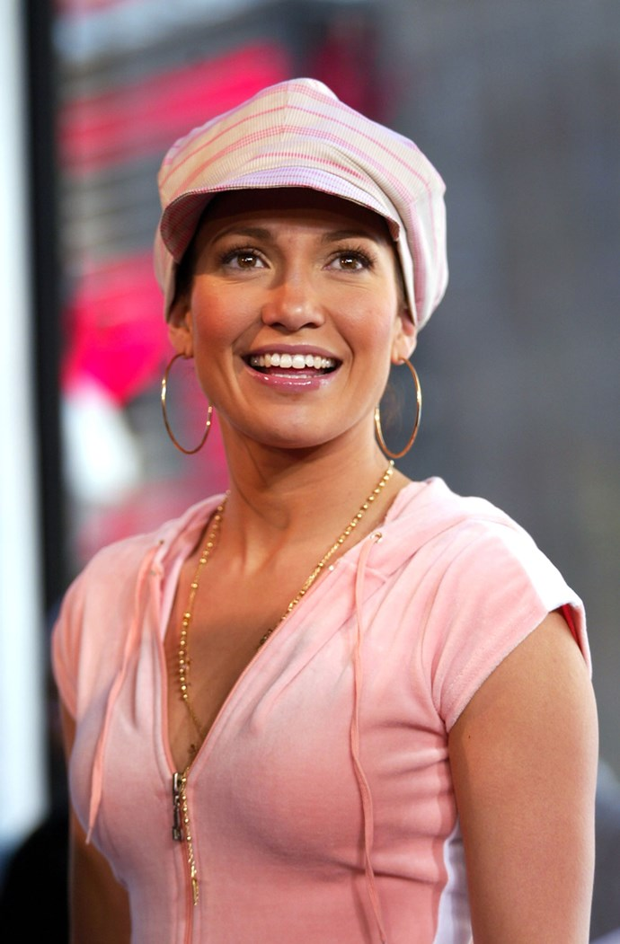 **2000: Baker Boy Hats** <br><br> Image: Jennifer Lopez