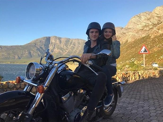 "Throwback to Jacob's bad boi motorcycle in the movie. <br><br> Image: [@jacobelordi](https://www.instagram.com/jacobelordi/?hl=en|target=""_blank""|rel=""nofollow"")"