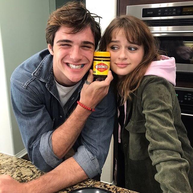 "When he introduced her to Vegemite... <br><br> Image: [@joeyking](https://www.instagram.com/joeyking/|target=""_blank""|rel=""nofollow"")"