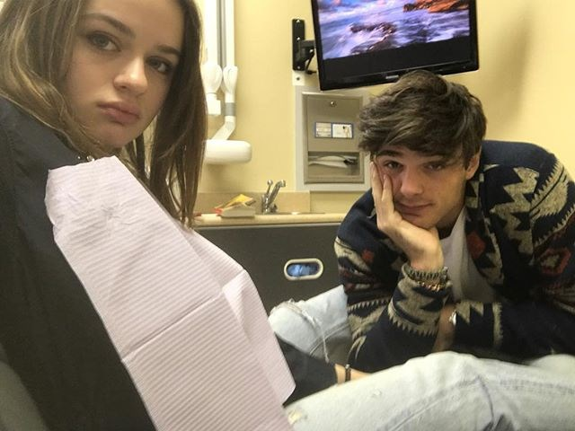 "How about the time Jacob went with Joey to the dentist just to ""hold her hand""?? <br><br> Image: [@joeyking](https://www.instagram.com/joeyking/