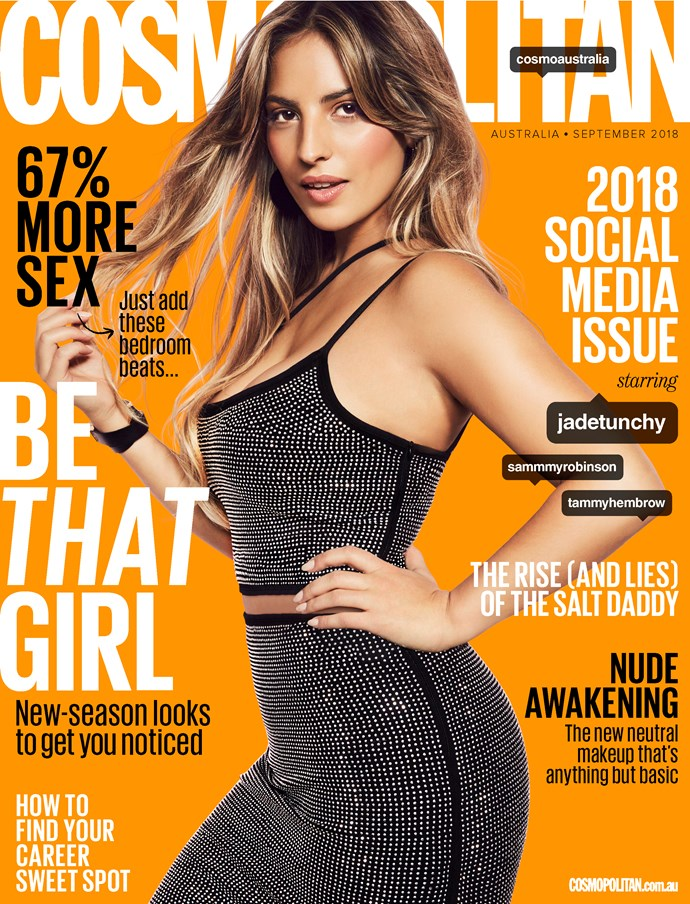 Pick up the September edition of *Cosmopolitan Australia* - on sale August 6, 2018