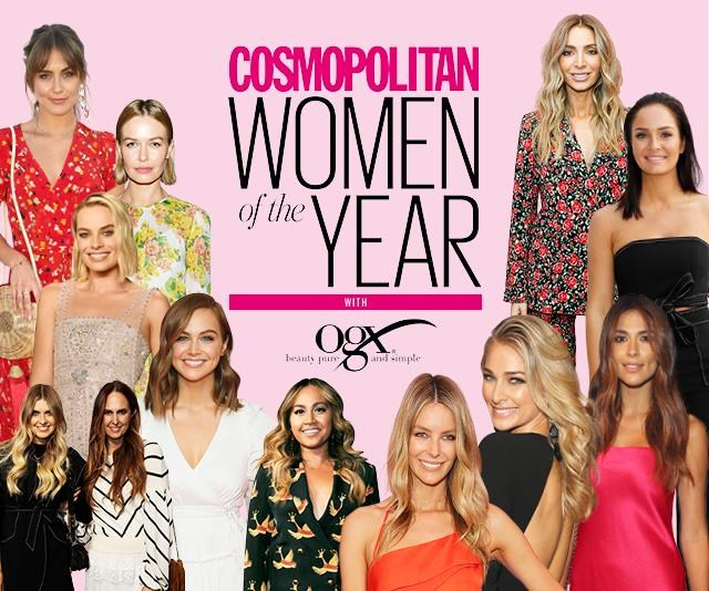 Vote now for Cosmopolitan's Women of the Year 2018