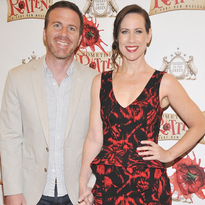**Miriam Shor (Diana Trout) and husband Justin Hagan**  While her character Diana struggles in the relationship department, Miriam, 47, is happily married to her actor husband Justin, 43, with whom she has two daughters: Iris, 4, and Ruby, 7. Justin has appeared in a number of TV roles, including *Law & Order* and *The Good Wife*.