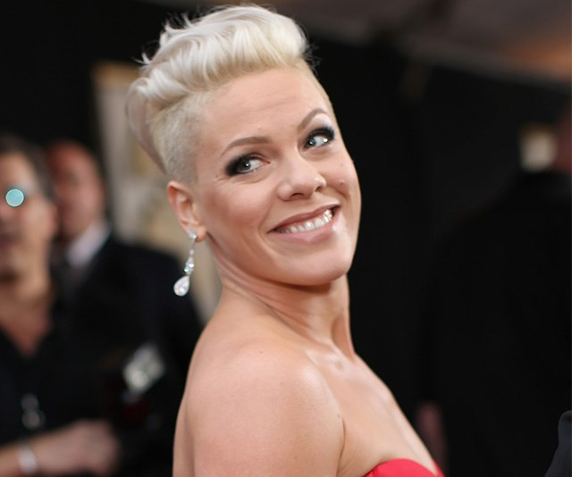 Pink has been hospitalised in Sydney and forced to postpone her concert