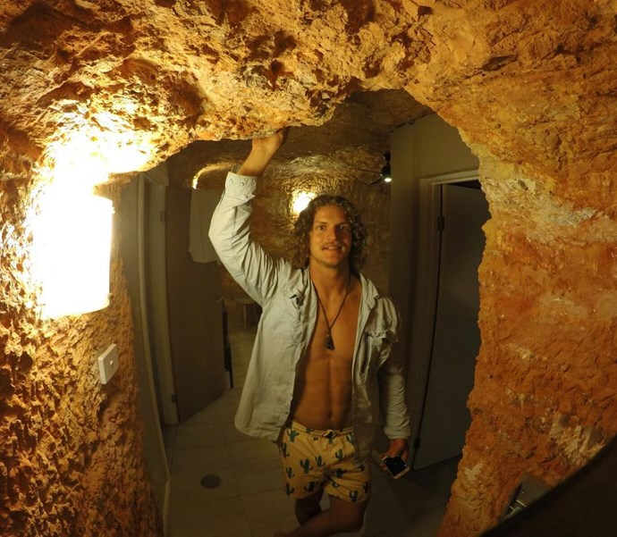 We would live in a cave for all eternity if it was with Nick.