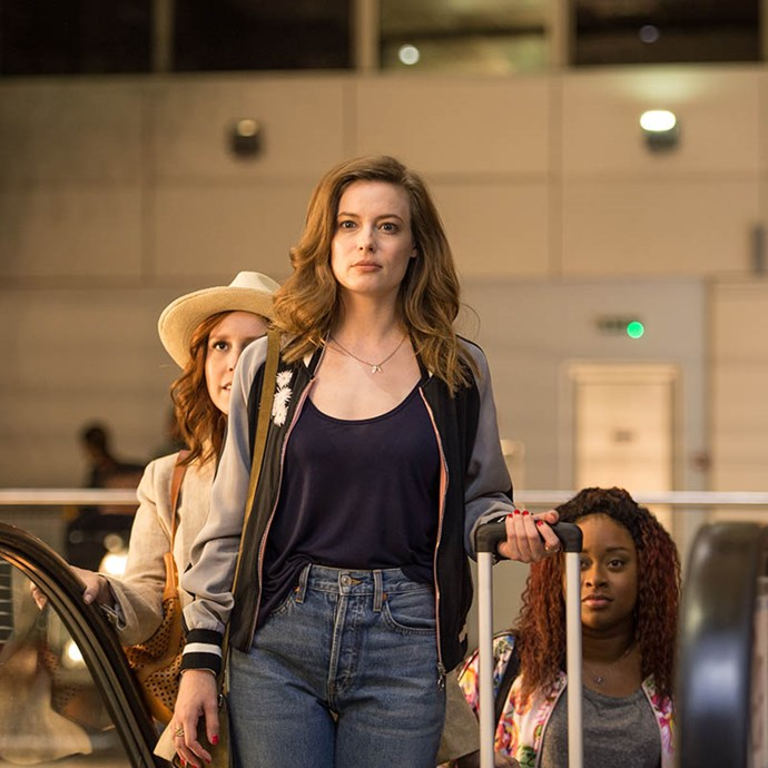 ***Ibiza*** <Br> Gillian Jacobs plays Harper, a woman who gets offered a work trip to Ibiza that gets subsequently crashed by her hard-partying friends. When the ladies take a side trip to Ibiza, Harper meets a handsome DJ and her better judgement flies out the window.