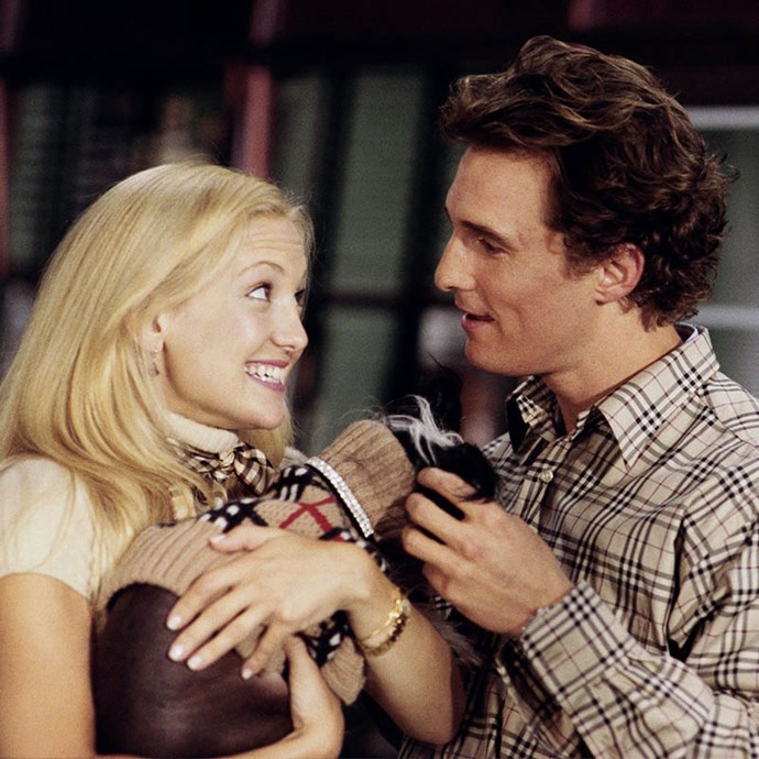 ***How to Lose a Guy in 10 Days*** <Br> Another Kate Hudson classic in which she pairs up with Matthew McConaughey, an executive trying to woo her for a bet, while she tries to lose him for a magazine story.