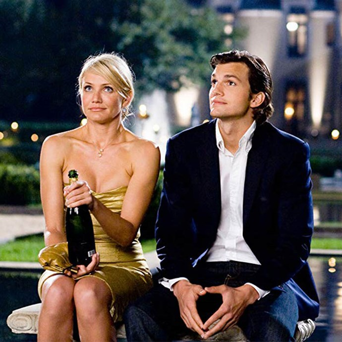 ***What Happens in Vegas*** <Br> Extremely good-looking and hilarious people Cameron Diaz and Ashton Kutcher play a couple who drunkenly get married in Las Vegas. Hungover and filled with regret, they plan to divorce but not before they win a $3 million jackpot on the slot machines. Given marriage means 'what's mine is yours', they're forced to stay together to get their portion of the money.