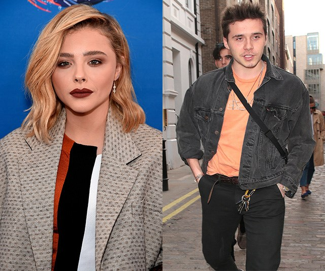 Chloë Grace Moretz just made a dig at Brooklyn Beckham's new relationship and it's hella awks