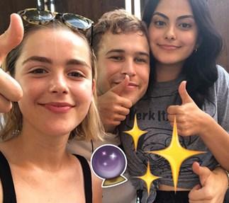 Exclusive first look at Netflix's super dark new 'Sabrina'