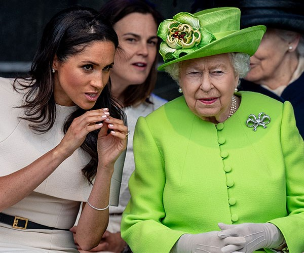 The Palace is reportedly considering an 'aggressive strategy' to deal with Meghan Markle's dad