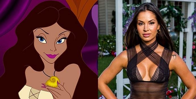 **Dasha** looks like **Human Ursula** from *The Little Mermaid*.