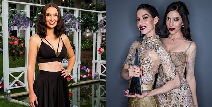 **Steph** looks like either/or of **The Veronicas**.