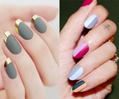 15 dope designs that'll make you want to try matte nail art