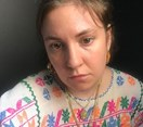 Lena Dunham just uploaded three completely nude selfies