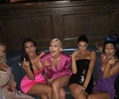 "This is how the Kardashian sisters feel about Kanye West saying he'd ""smash"" them all"