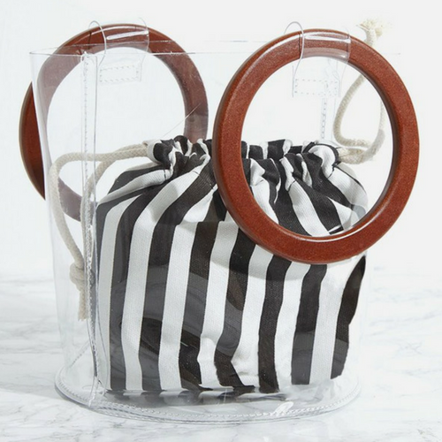 """Clear round handle bag, $40 at [Prettylittlething](https://www.prettylittlething.com.au/clear-round-handle-bag.html
