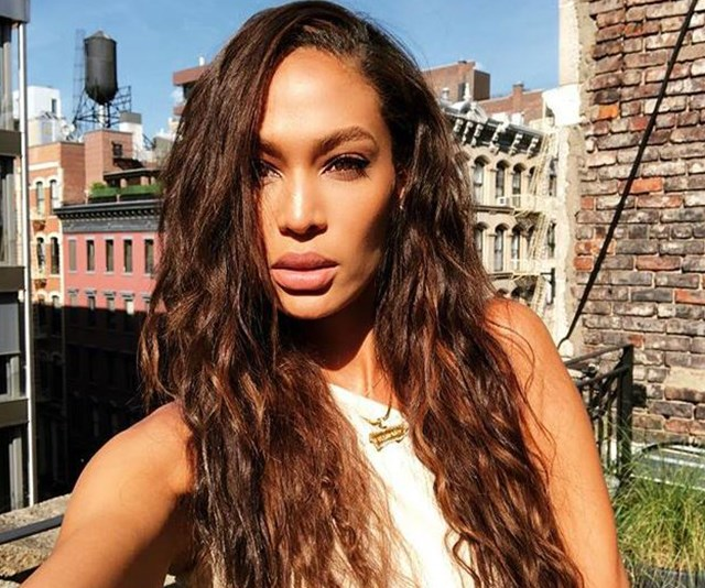 Supermodel Joan Smalls uses ~what~ to contour her face!?