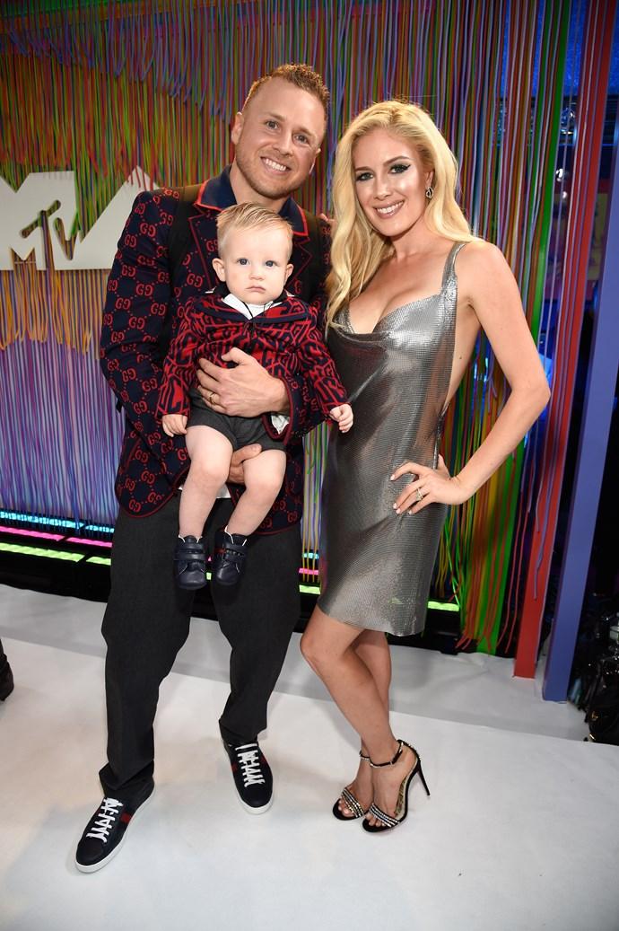 Spencer and Heidi Pratt and their baby boy, Gunner Pratt