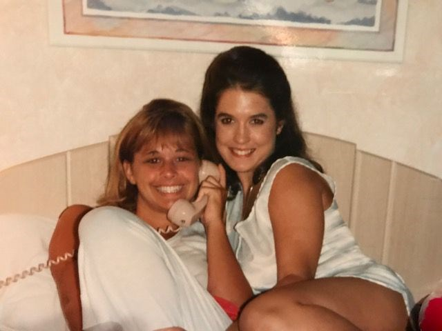 Tara (right) with her best friend, Maria Harber, COURTESY OF MARIA HARBER
