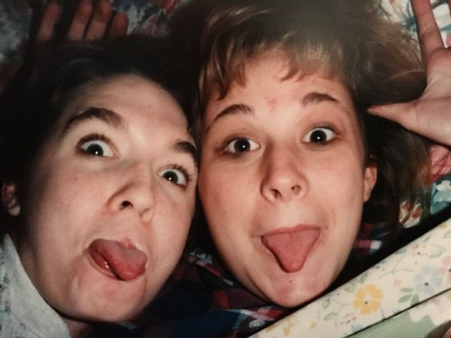 Teenage Tara (left), COURTESY OF MARIA HARBER