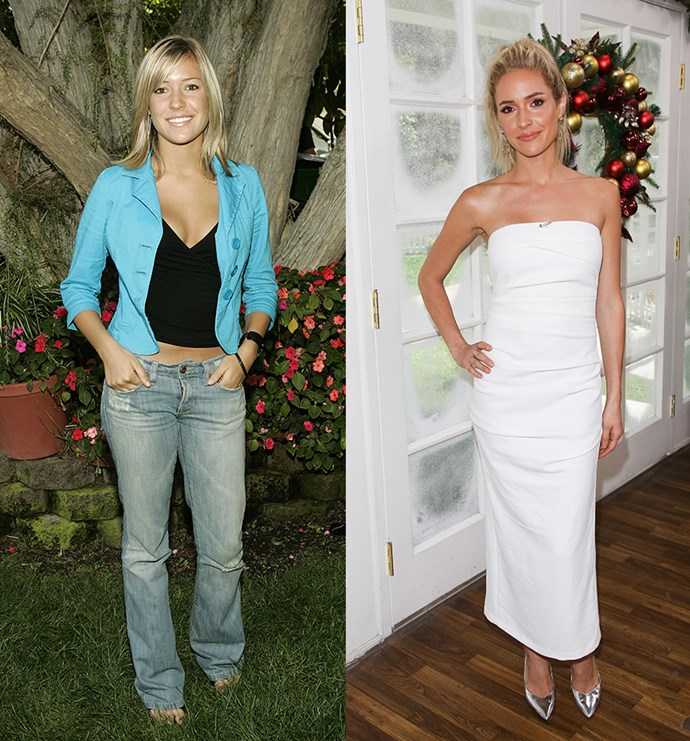 ** Kristin Cavallari Before and After** <br><br> Kristen was chief bitch on *Laguna Beach* before rocking up in *The Hills* to stir up more shit for LC. Honestly, she made these shows great and for that we will be eternally grateful. However, as Kristen is currently filming her own *E!* series called *Very Cavallari* about her new life in Nashville working on her lifestyle brand, we have a funny feeling she won't be coming back for this *Hills* reboot.
