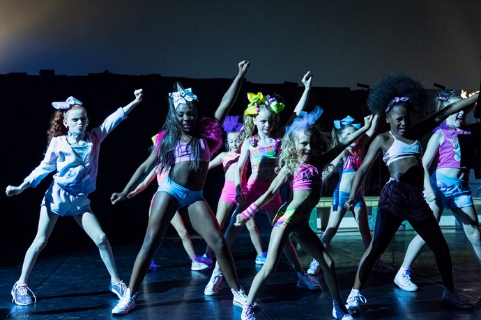 Behind-the-scenes of Netflix's new show, *Dancing Queen*