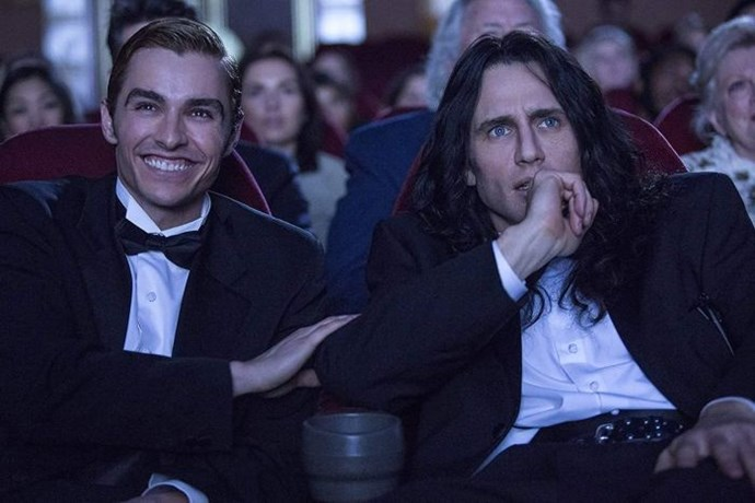 ***The Disaster Artist* (September 28):** Brothers James and Dave Franco teamed up for this award-winning movie about Tommy Wiseau, the infamous filmmaker behind what is widely regarded as the worst film ever made, *The Room*.