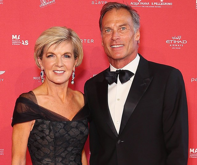 Julie Bishop's boyfriend reckons she'll be the new Prime Minister