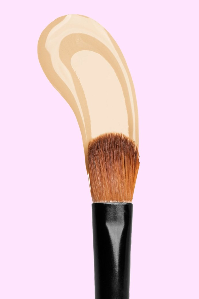 "**2. Dial back on the concealer** <br> <br>  It can be tempting to go OTT with concealer, but this can lead to ashy undereyes and caking. <br> ""A tip to ensure a more natural finish when using concealer, is to look at yourself in the eye when applying. We have a tendency to zero in on all our imperfections, but no one else does. So when I use concealer I look into the eyes and conceal only things that I notice within the peripheral vision,"" says Dominic.  <br> ""Remember, people only look at each other in the eye, they don't see all those other 'imperfections' that we see ourselves."" <br> For a natural finish try NARS Radiant Creamy Concealer ($44 at [Mecca](https://www.mecca.com.au/nars/radiant-creamy-concealer/V-015503.html