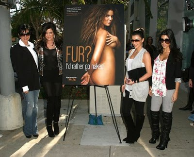 Remember this? Turns out being anti-fur never goes out of fashion. Not sure about these looks though...