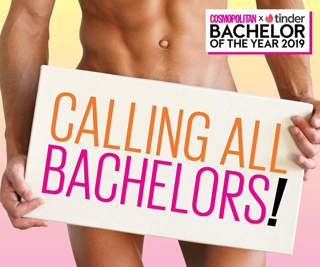 Cosmopolitan & Tinder Bachelor of the Year Awards 2019: Nominations are open!