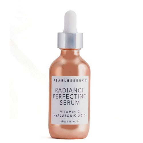 """**Pearlessence Radiance Perfecting Serum, $23 at [Amazon](https://www.amazon.com/Pearlessence-Radiance-Perfect-Vitamin-Hyaluronic/dp/B07CMBS8QY?th=1