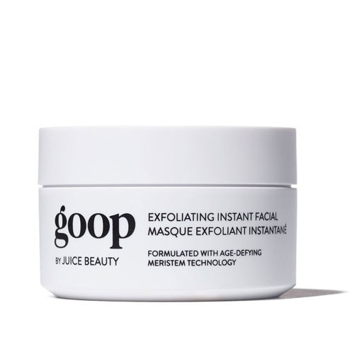 """**Goop Instant Facial, not available in Australia.** <br><br> """"And I like the Goop Instant Facial — it's really, really nice. She's tingly — I try to do it until the tingle is done, because then I feel like she's done. My skin's a little pink afterwards, but it doesn't take long for it to go away. It really makes a difference."""""""