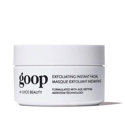 "**Goop Instant Facial, not available in Australia.** <br><br> ""And I like the Goop Instant Facial — it's really, really nice. She's tingly — I try to do it until the tingle is done, because then I feel like she's done. My skin's a little pink afterwards, but it doesn't take long for it to go away. It really makes a difference."""