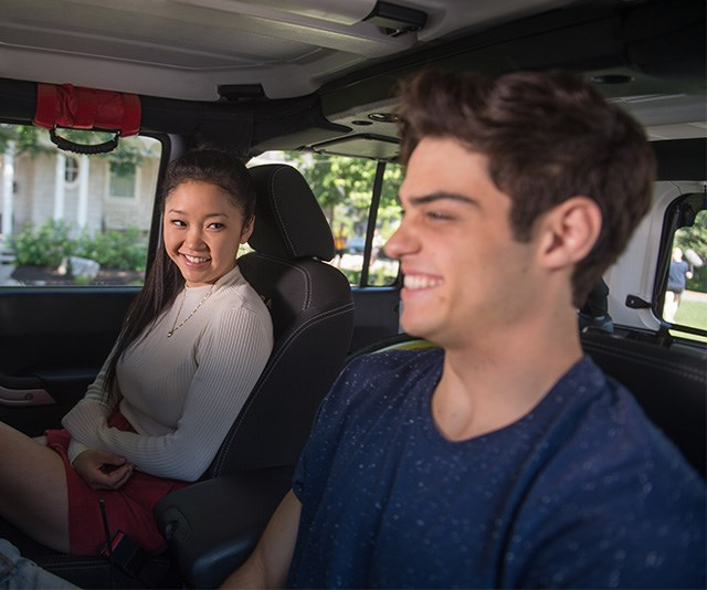 Noah Centineo and Lana Condor's best flirting moments caught on camera