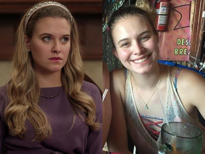 **Tiera Skovbye AKA Polly Cooper:** The fair haired Canadian actress is perfectly cast as Betty's innocent older sister.