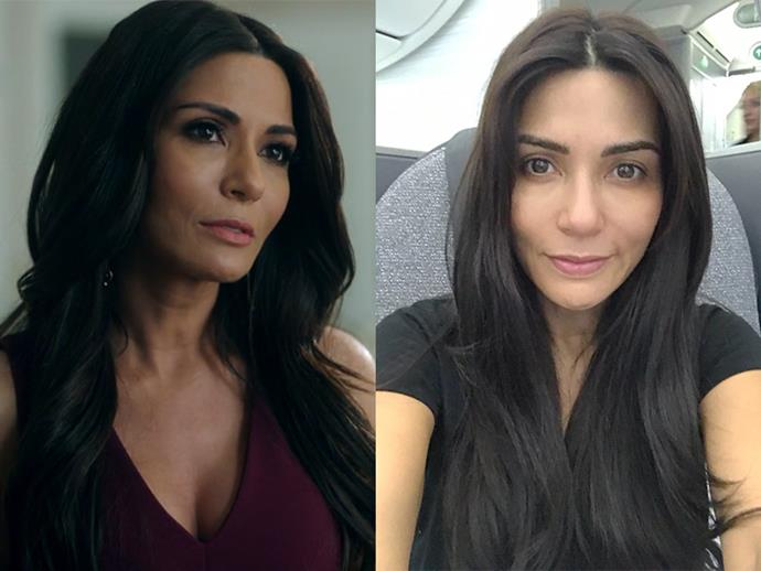 **Marisol Nichols AKA Hermione Lodge:** Veronica's mum has flawless skin even without the immaculate face of foundation.