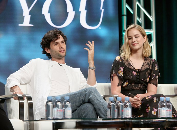 Penn preaching about YOU at The 2018 Summer Television Critics Association Press Tour. Speak your mind, boy.