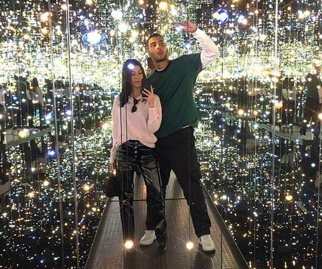 Did Younes Bendjima call the paps during his recent date with Kourtney Kardashian?