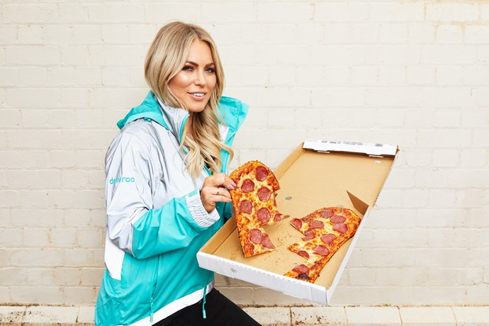 Keira's saving the world from heartbreak one pizza slice at a time....