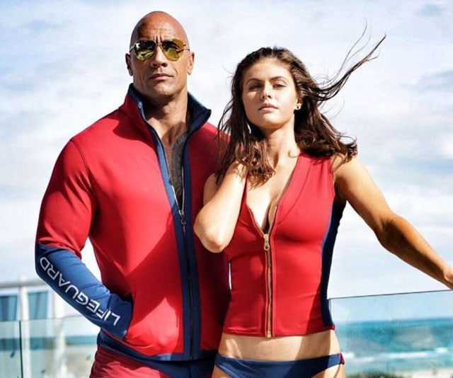 baywatch new the rock