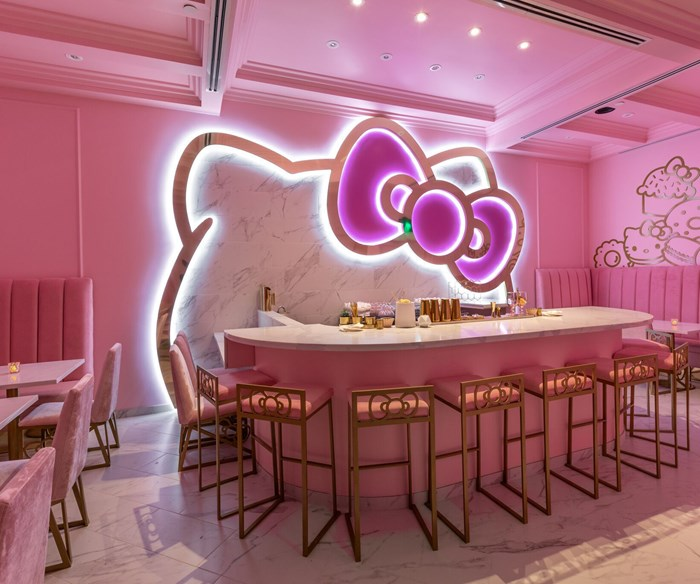 A new Hello Kitty cafe just opened, and my inner child can't function