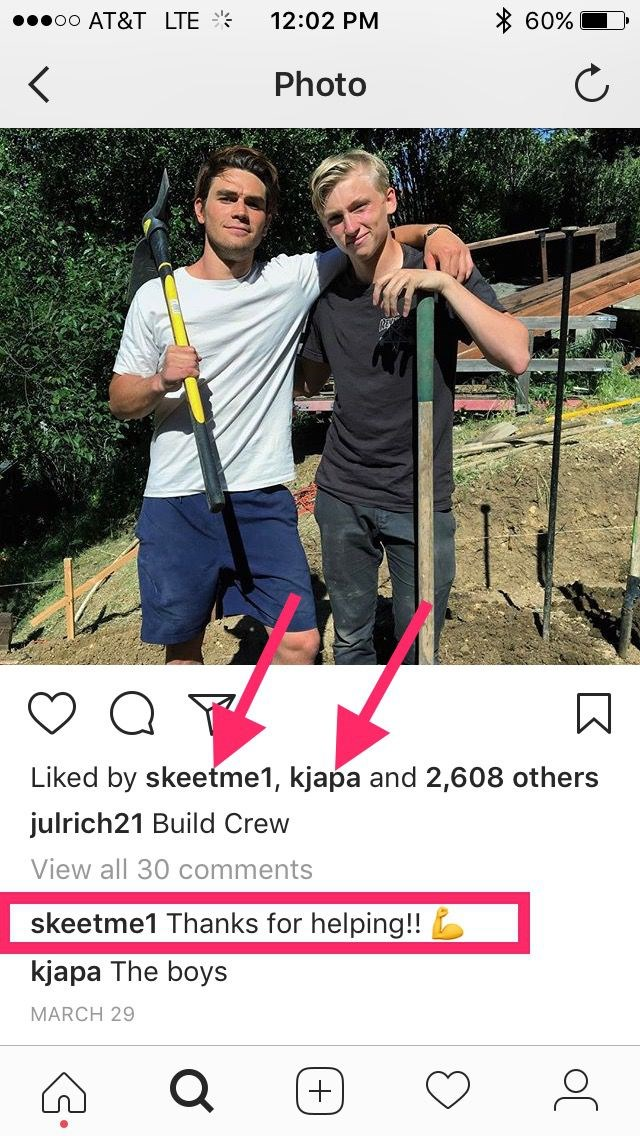 KJ and his son Jakob hanging out IRL, the cutest!