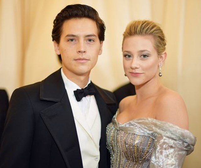 Holy sh*t! Cole Sprouse just posted a topless picture of Lili Reinhart!