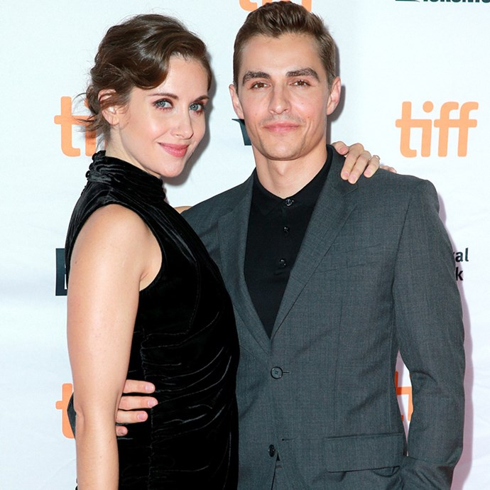 **Alison Brie and Dave Franco:** This seriously adorable husband-and-wife team both have an undeniable twinkle in their eyes, but also share a pointed chin, high cheekbones and strong eyebrows.