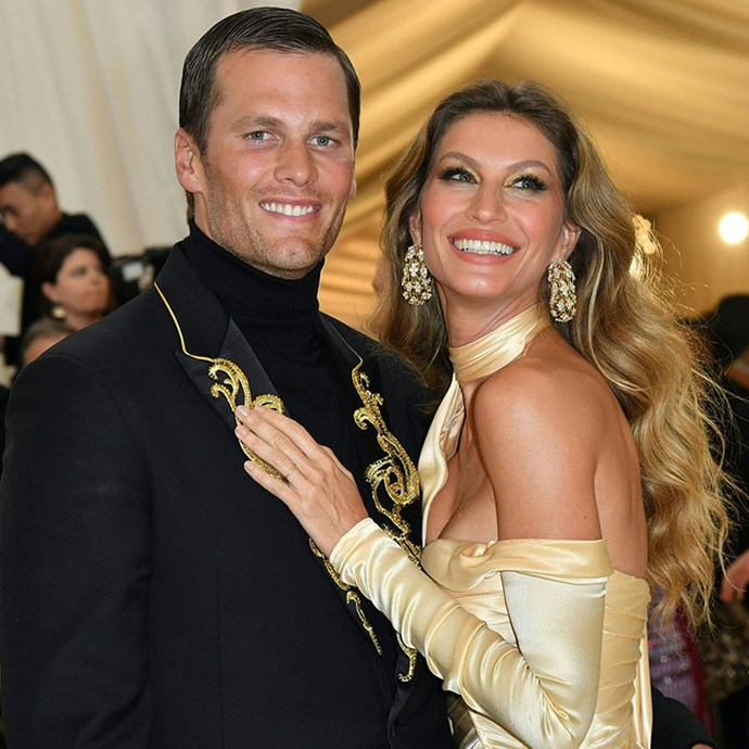 **Tom Brady and Gisele Bundchen:** These two look like impossibly beautiful aliens dropped down to earth from the same planet of Amazonian babes. They share the same bone structure, long, toned limbs, perfectly white smiles and just general glow.