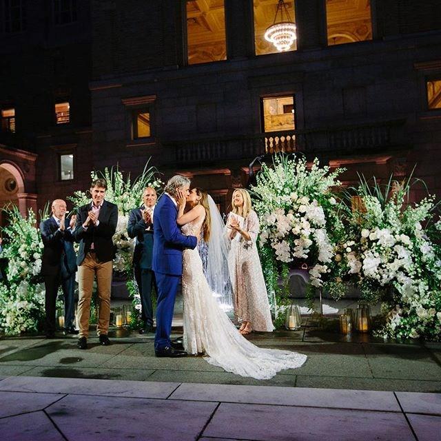Eliza Dushku's *Buffy The Vampire Slayer* wedding day.