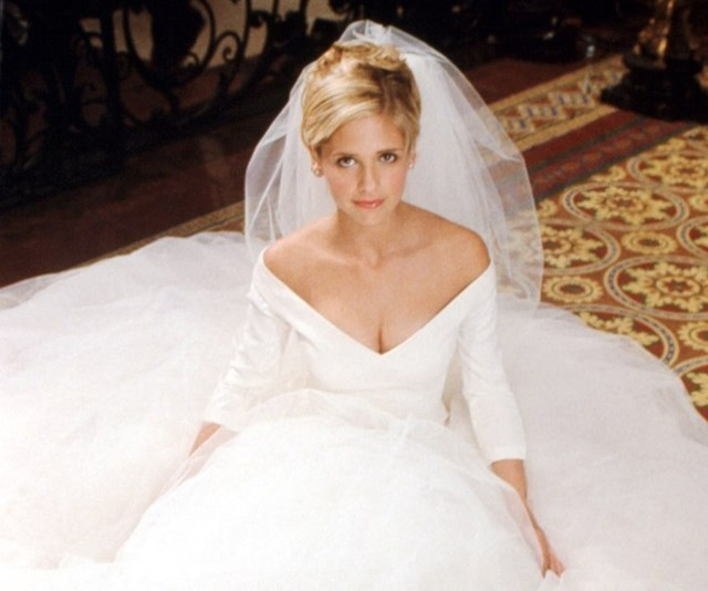 There was a 'Buffy The Vampire Slayer' wedding, and we're feeling both romantic and nostalgic