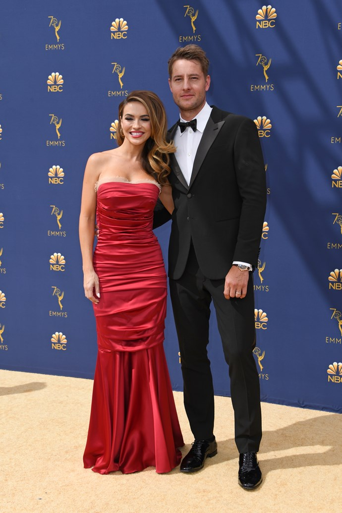 Justin Hartley and his wife Chrishell Stause